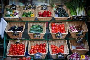 Bouillon de légumes frais