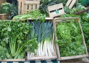 Les légumes verts sont amers
