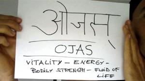 Ojas est la résultat d'une bonne digestion