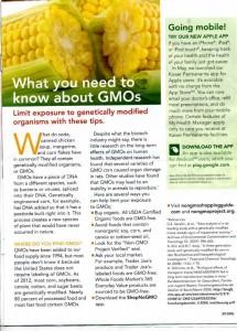 La Kaiser Permanente conseille de bannir les OGM