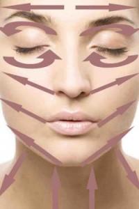 Le massage du visage est important