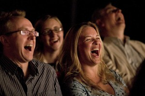 Le rire est une réaction spontanée