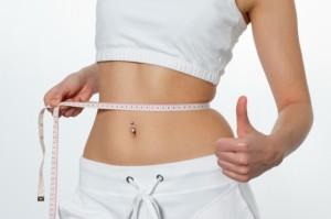 La perte de poids est progressive