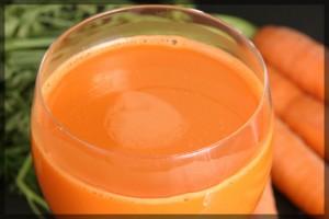Le jus de carotte améliore la vue
