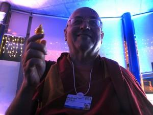 Le moine bouddhiste Mathieu Ricard a participé aux recherches sur la méditation