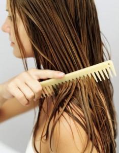 L'huile de sésame nurrit le cheveu