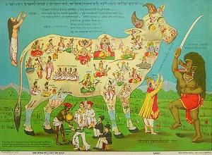 La vache nourricière