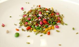Mixture digestive proposée dans les restaurants indiens