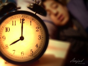 Se coucher tôt est essentiel