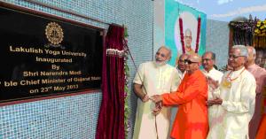 L'Université du Yoga Lakulish à Ahmedabad
