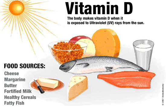 sources vitamine d alimentation