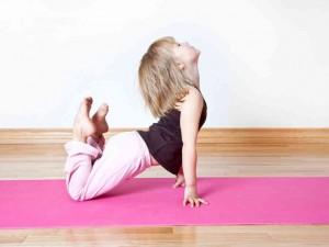 Le Yoga peut être pratiqué par les enfants