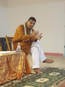Photo prise à la conférence