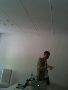 Patrick Nicolas lors de la conférence