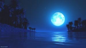 Le cycle menstruel est influencé par la lune