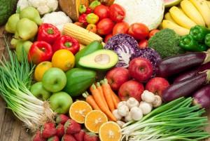 Fruits et légumes sont la base du régime crdivore