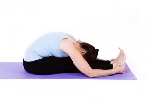 Paschimottasana, posture dite de l'étirement du dos