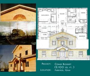 Plan d'une maison en SVM