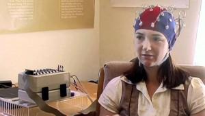Prise d'EEG pendant la méditation