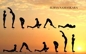La Salutation au Soleil, Suryanamaskar