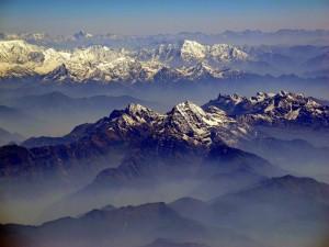 La chaîne de l'Himalaya