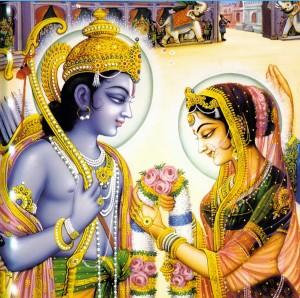 Dévotion réciproque de Râma et Sita