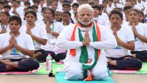 Narendra Modi célèbre le Yoga Day